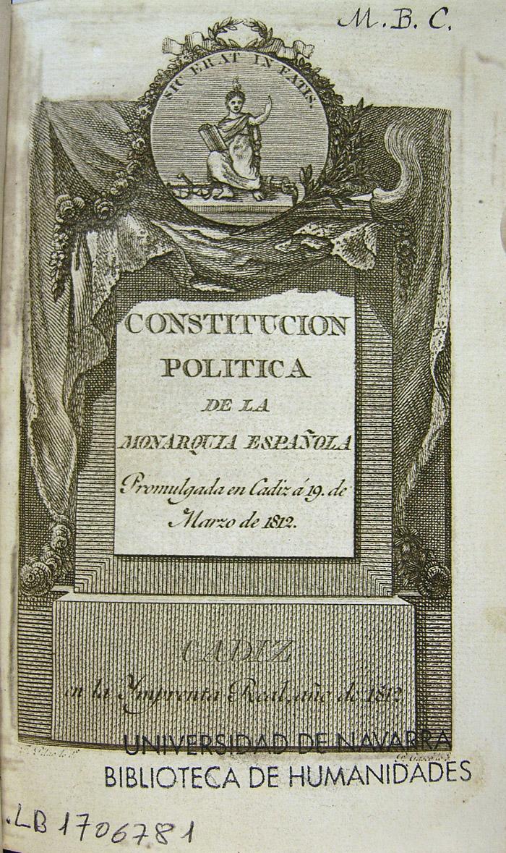 La constitución de Cádiz: una España reformada