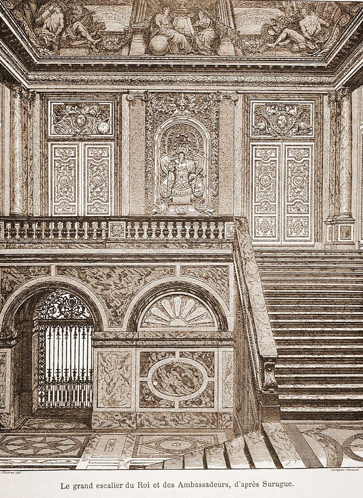 Les appartements du Louvre Paris France