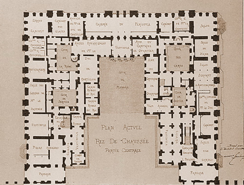 1000 images about versailles on pinterest ground floor for Versailles house floor plan