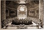 Versailles: teatro provvisional en el jardín